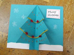 クリスマスカードの完成!