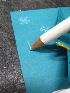 色鉛筆で描きます