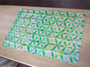 紙染め-ブックカバー