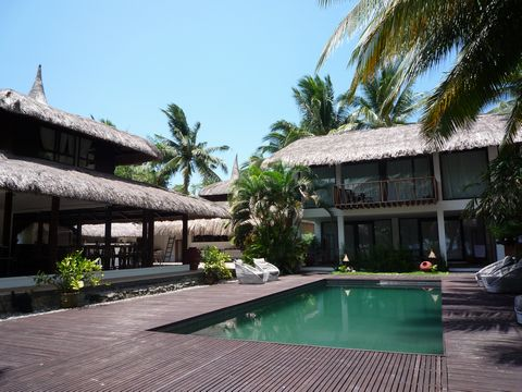 フィリピン ボホール島、パングラオ島 ホテル&ビーチ
