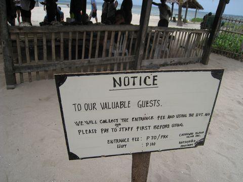 カオハガン島の観光写真6