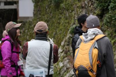 箕面山の生き物その四。。。ではなく、大変失礼しました。今回参加した隊員さんと一般参加者さまです