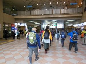 宝塚駅9:30出発