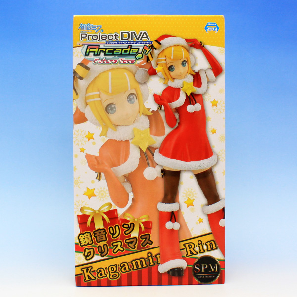 鈴音リン クリスマス スーパープレミアムフィギュア 初音ミク Project DIVA Arcade Future Tone SPM 衣装 コスプレ グッズ プライズ セガが再入荷致しました。