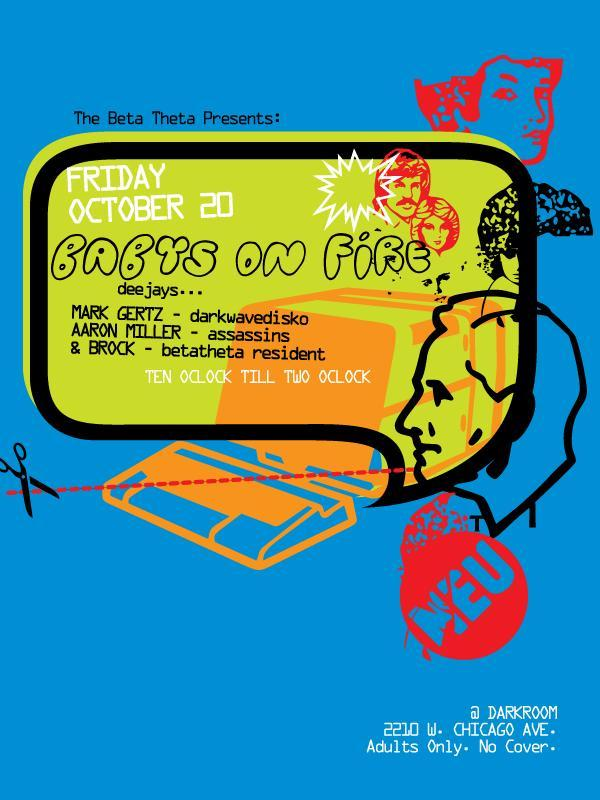 BABYS ON FIRE poster
