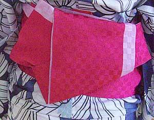 半巾帯の結び方【貝の口結び】10