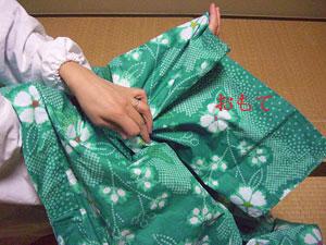 浴衣を自分でお洗濯(3) 〜アイロンがけ〜1