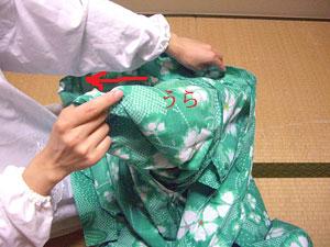 浴衣を自分でお洗濯(3) 〜アイロンがけ〜2