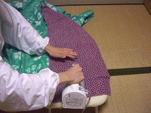 浴衣を自分でお洗濯(3) 〜アイロンがけ〜4