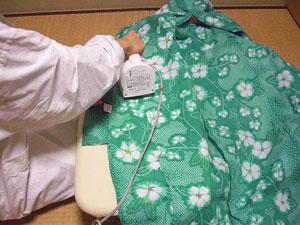 浴衣を自分でお洗濯(3) 〜アイロンがけ〜7