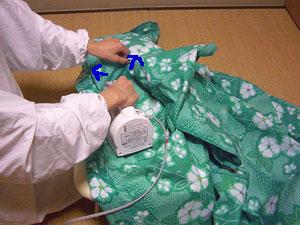 浴衣を自分でお洗濯(3) 〜アイロンがけ〜8