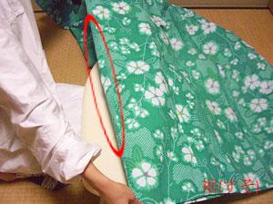浴衣を自分でお洗濯(4) 〜本だたみで収納〜1
