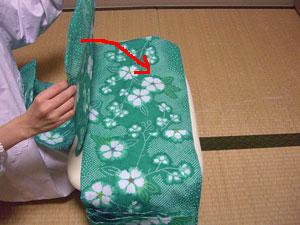 浴衣を自分でお洗濯(4) 〜本だたみで収納〜12