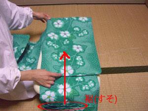 浴衣を自分でお洗濯(4) 〜本だたみで収納〜13