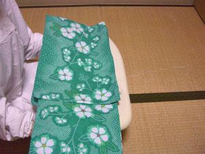 浴衣を自分でお洗濯(4) 〜本だたみで収納〜16