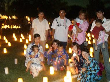燈花会へ(ママ友家族全員集合!)