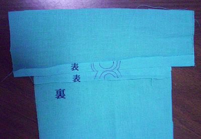 スカーフで【替え袖】作り(2) 〜ミニ袖を作って予行演習(その1)〜7