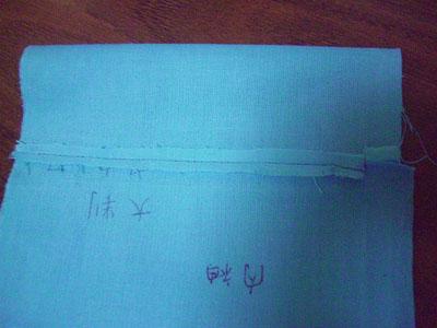 スカーフで【替え袖】作り(3) 〜ミニ袖を作って予行演習(その2)〜13