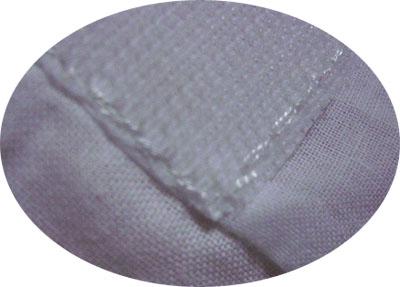 スカーフで【替え袖】作り(番外・マジックテープ)