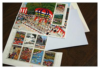 2009年10月の記念切手(ふるさと心の風景・第6集)