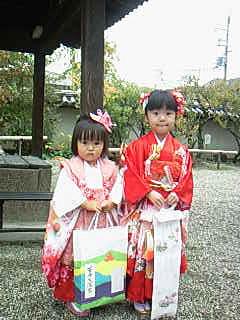 うーたんちゃんの、3歳のお参り(3)