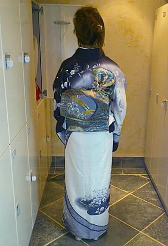 ayumiさん(扇太鼓をご自分でされました!)