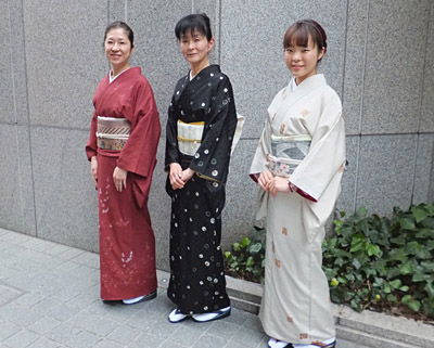 大阪で着物会☆