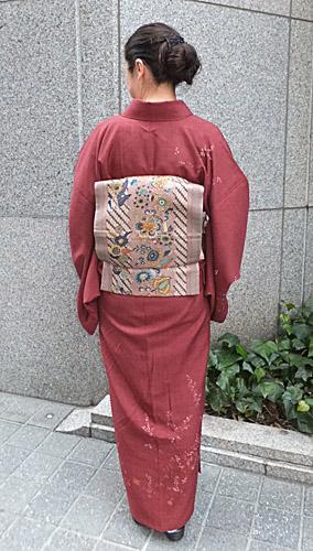 Sさんの帯(多色使いで素敵!)