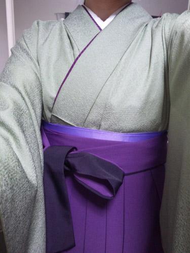 t-r様の袴のお写真♪