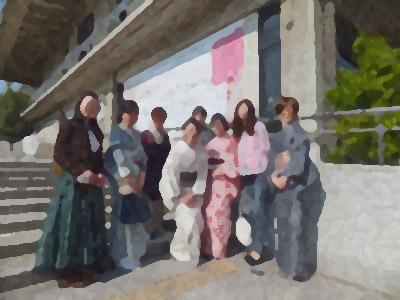 奈良県立美術館へ(特別展 Kimono Beauty)