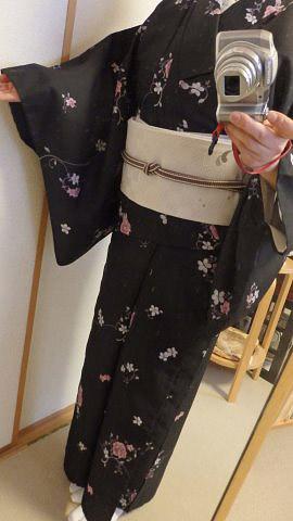 F・Y様の単衣着物♪
