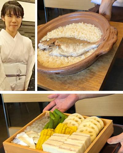 鯛めしと天ぷらが美味しい、与太呂さん。