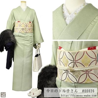 着物コーディネート・初詣バージョン☆彡