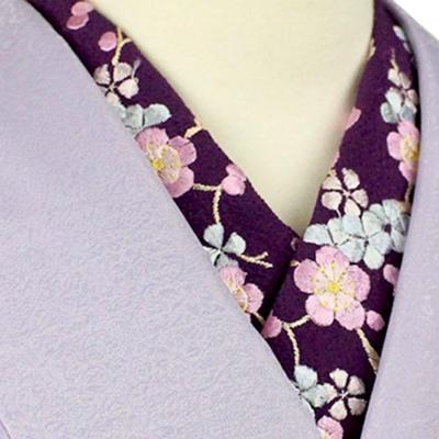 格安な刺繍半衿。刺繍半襟。