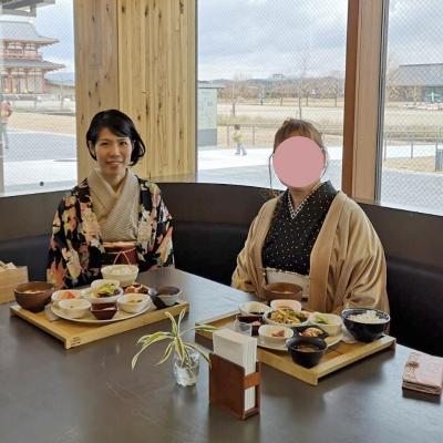 着物でランチ会♪ at奈良