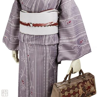 博多織 和装バッグ 光沢が美しい!