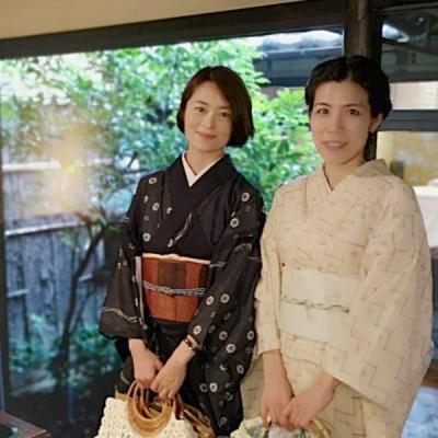 京都の#スコルピオーネ さんで、着物ランチ!