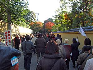東福寺までの道