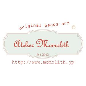 手作りビーズでお洒落!アトリエ・モモリスのコットンパールのオールノットのロングネックレスがおすすめです。