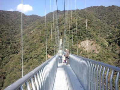 吊り橋 綾町