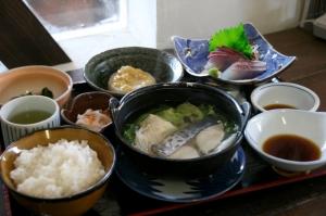 梅乃葉定食鰆塩鍋