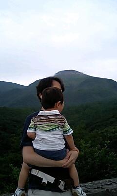 那須の山です。