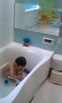 お風呂プール