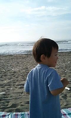 チビりんと海