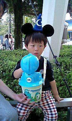 ミッキーの耳とポップコーン