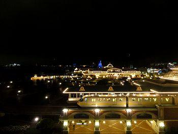 夜景もきれい。