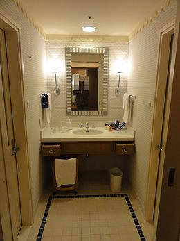 洗面所はこんなん