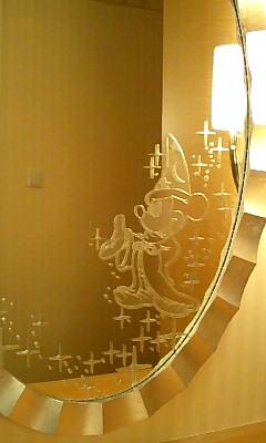 ミッキーの鏡