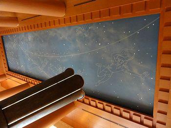 天井の絵がピーターパン