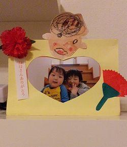 母の日のプレゼント(年中さん)